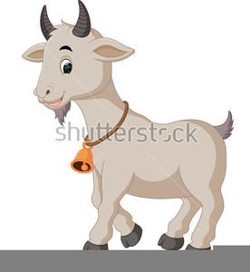 Free Animated Goat Clipart.