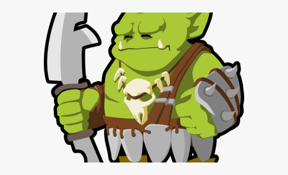 Orc Clipart Animated.