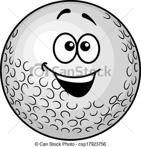 Animated Golf Ball Clipart.