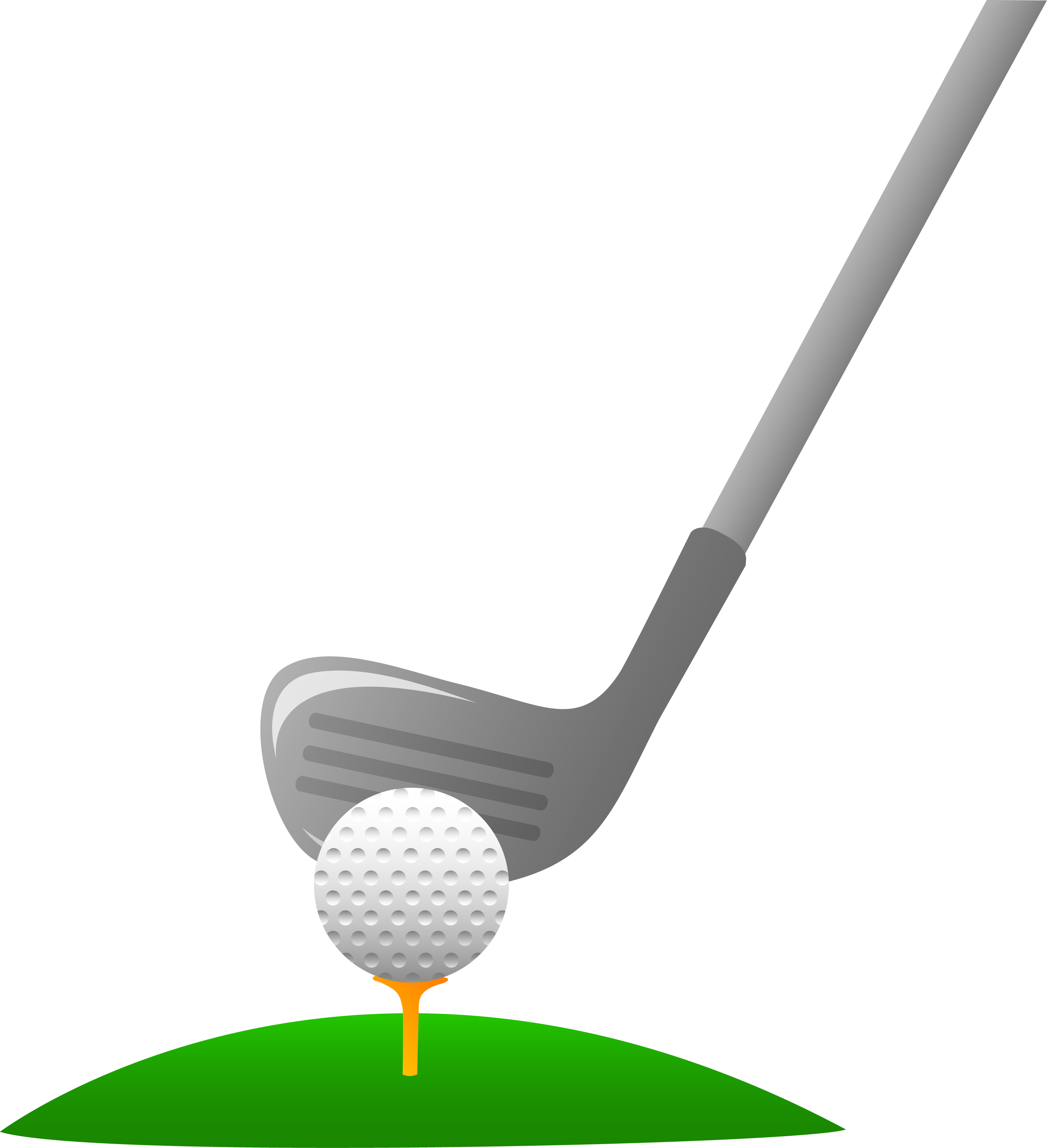 Free animated golf clipart.