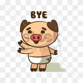 Free PNG Wave Goodbye Clip Art Download.
