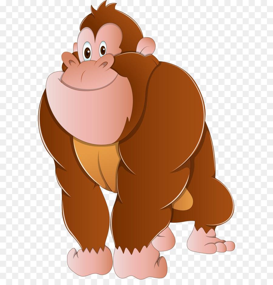 Ape clipart gorilla, Ape gorilla Transparent FREE for.