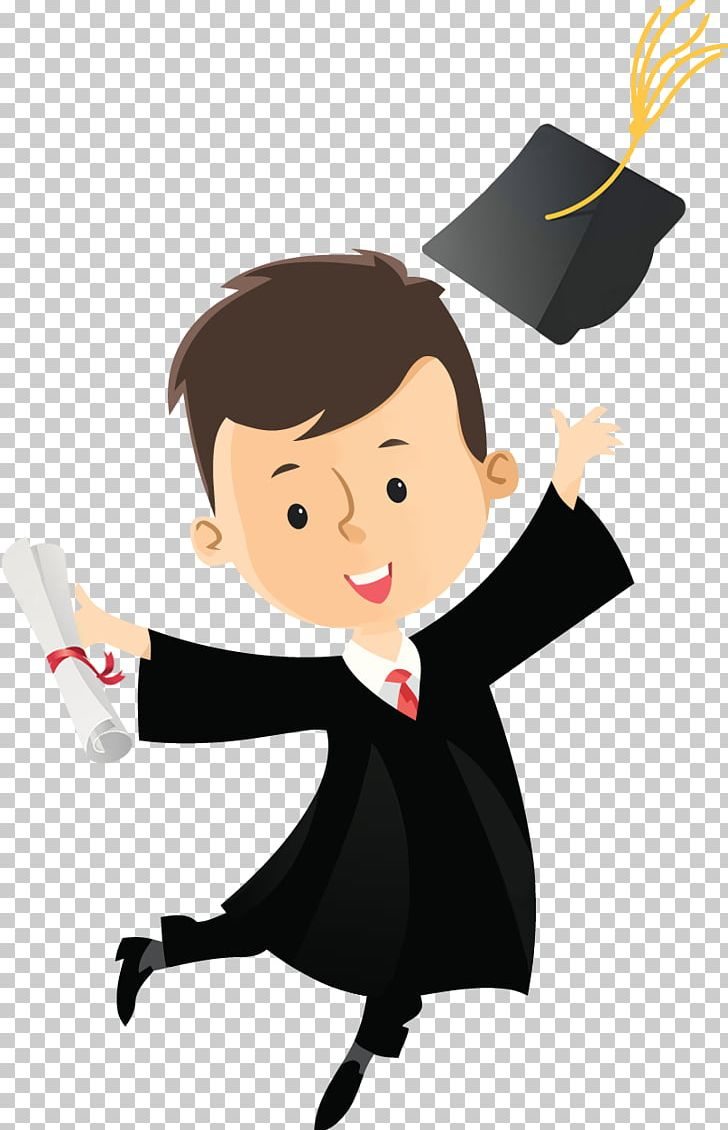 Graduation Ceremony Cartoon Diploma Drawing PNG, Clipart.