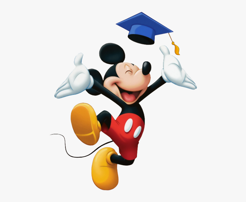 Mickey Mouse Graduation.