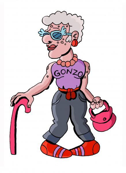 Free Cartoon Grandma Images, Download Free Clip Art, Free.