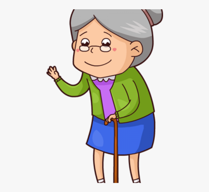 Little Old Lady Cartoon Pictures.