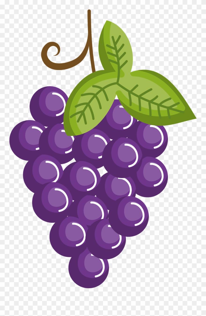 Grape Clip Art.