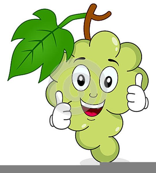 Clipart Cartoon Grapes.