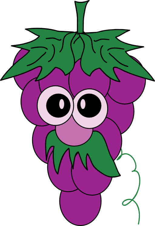 Grape Clip Art.