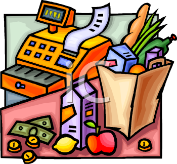 1043 Supermarket free clipart.
