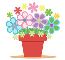 Plants Animated Clipart.