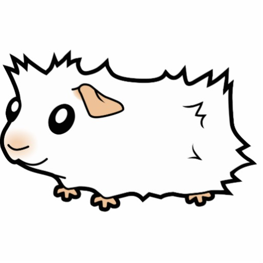 Free Guinea Pig Clipart Black And White, Download Free Clip.