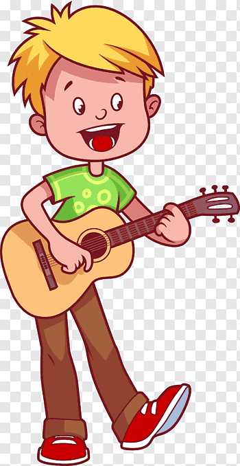 Play The Guitar cutout PNG & clipart images.