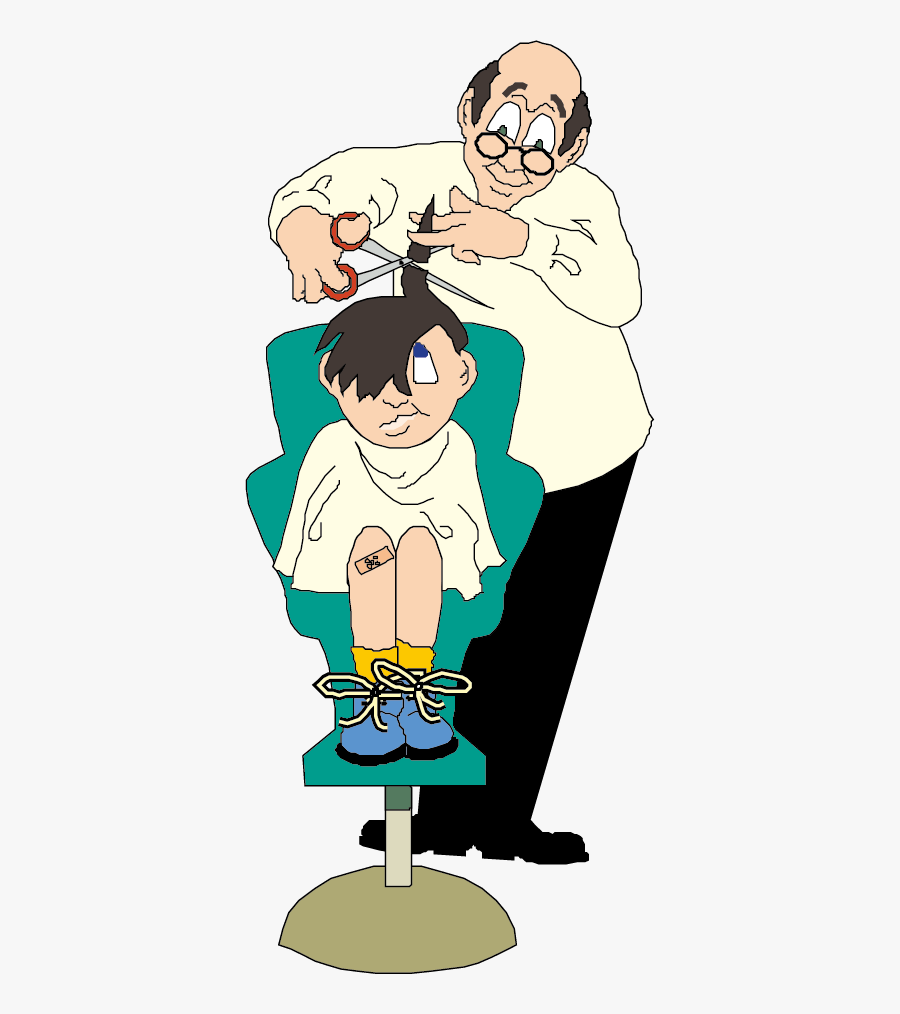 Haircut Clipart Baber.