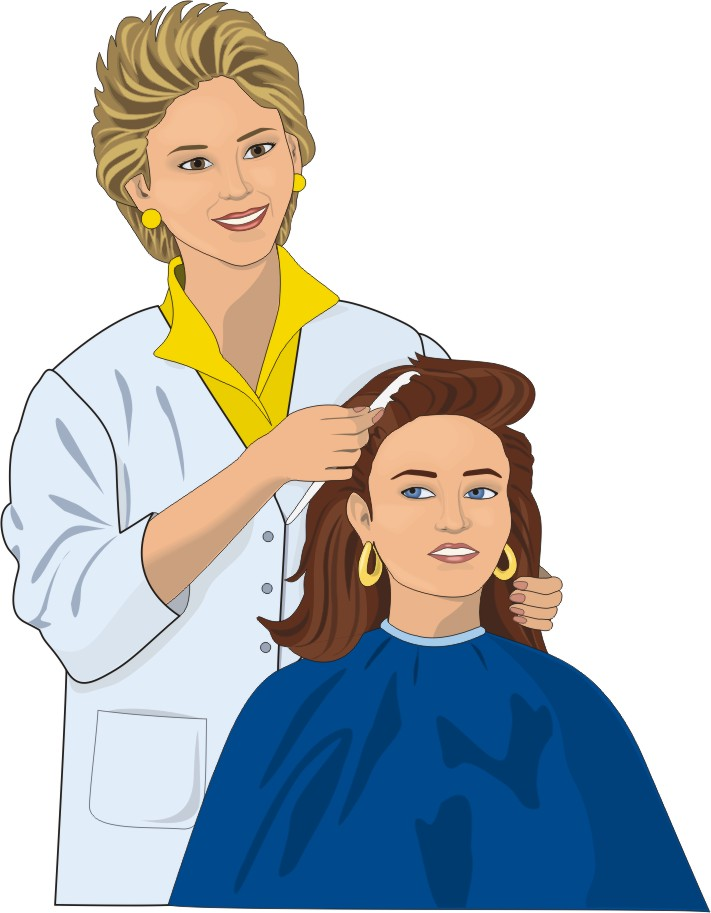 Free Funny Hairdresser Cliparts, Download Free Clip Art.