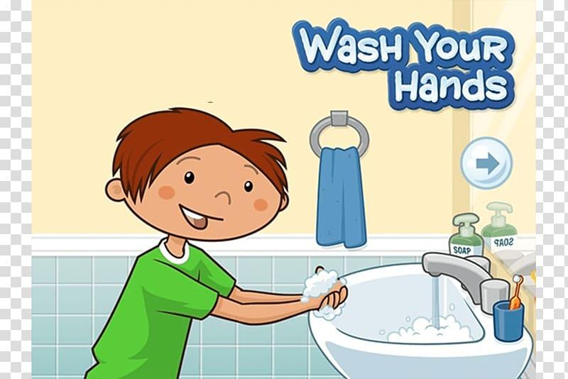 Hygiene Child Hand washing Cleanliness, child transparent.