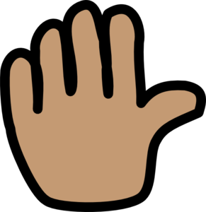 Hand Wave Clip Art at Clker.com.