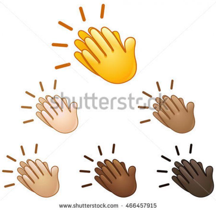 Cartoon Clapping Hands.