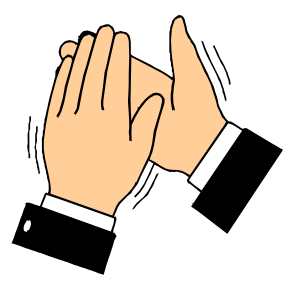 Clipart clapping hands animated 4 » Clipart Portal.