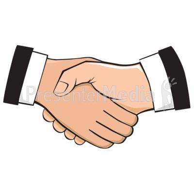 Handshake Illustration.