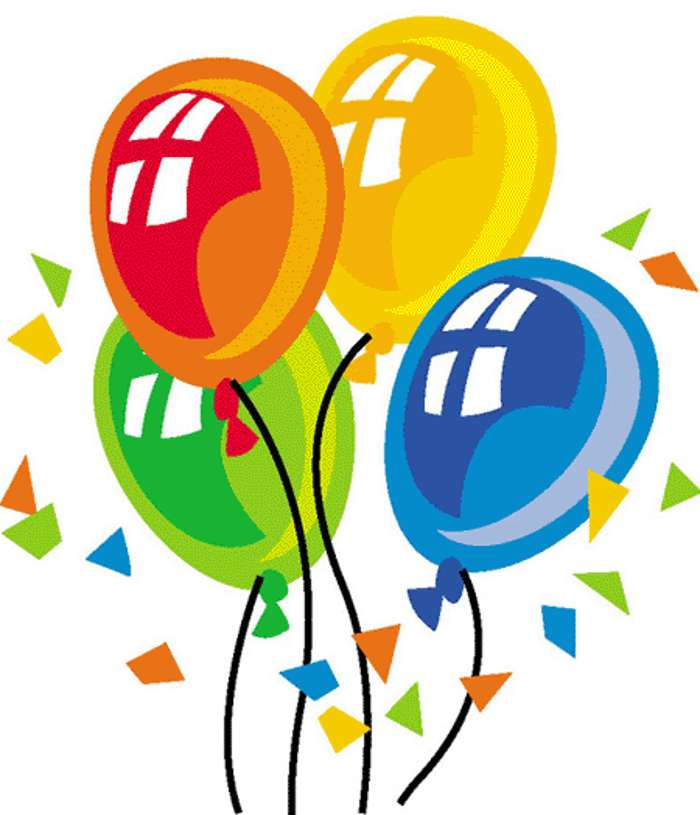 Clipart Of Birthday.