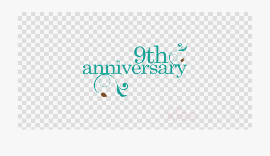 Happy Anniversary Clipart Blue.