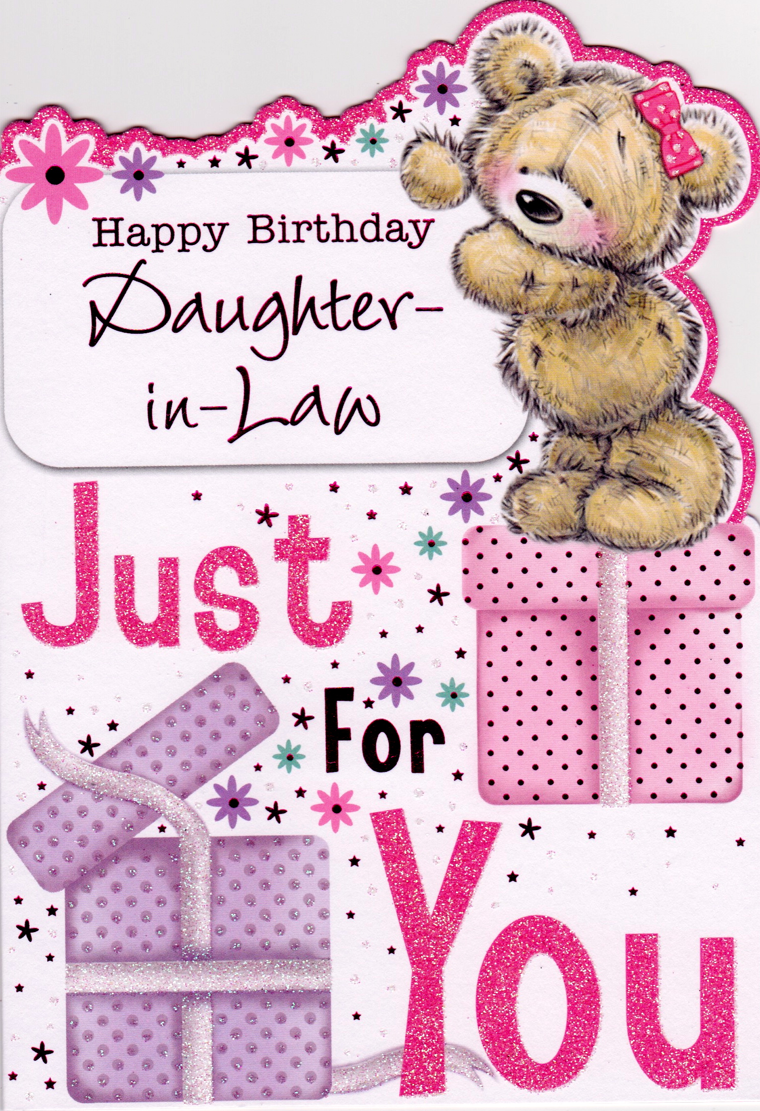 Happy birthday daughter in law clip art.