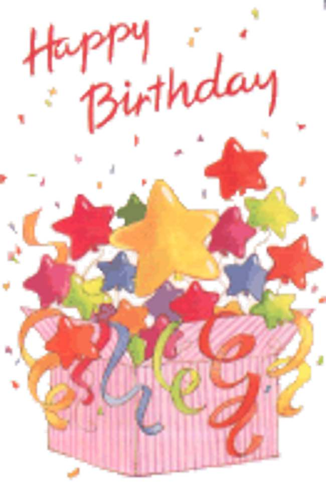 Free Animated Happy Birthday Clipart.