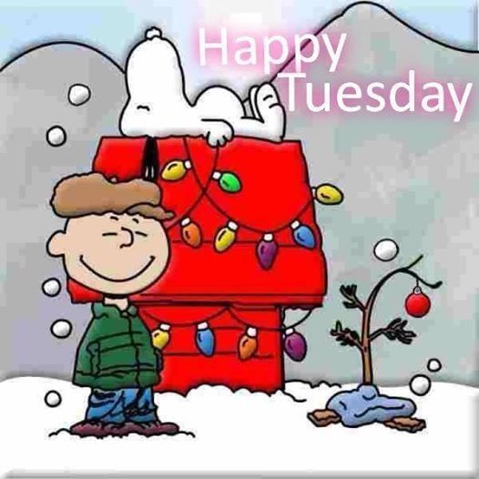Christmas Snoopy Happy Tuesday Quote Pictures, Photos, and.
