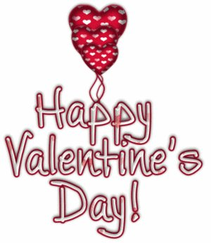 7074 Valentines Day free clipart.