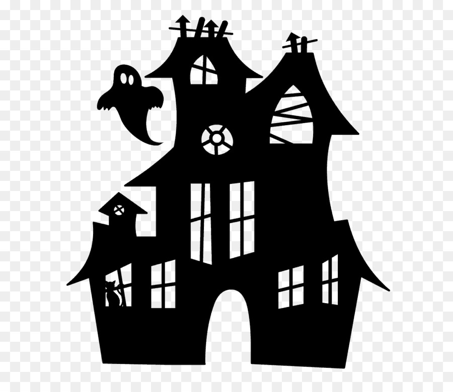 Haunted House Cartoon.