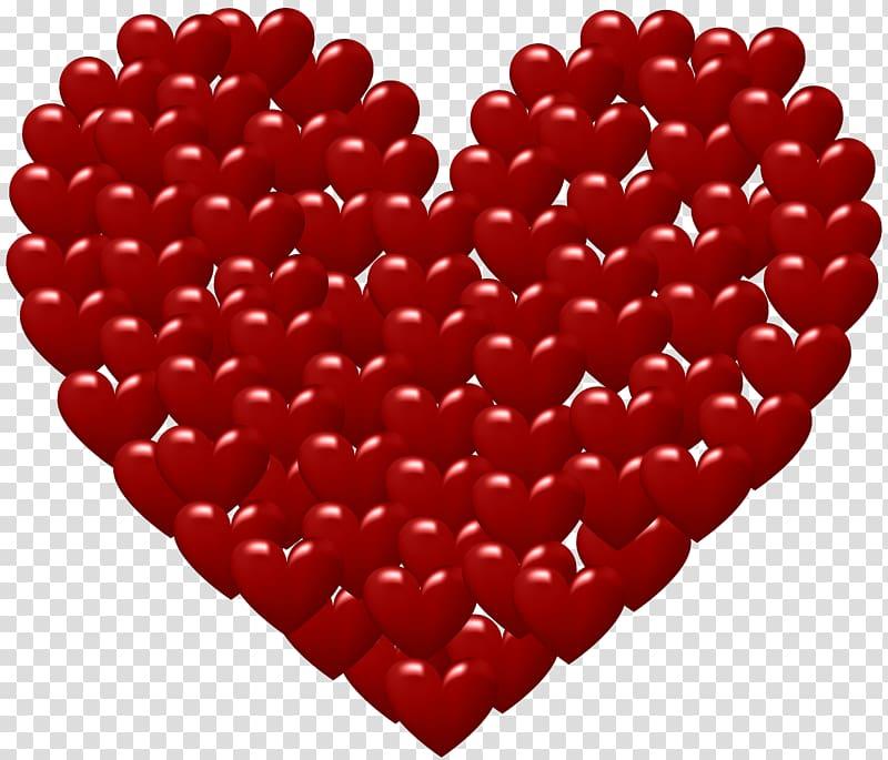 Animation Love GIF art, Heart Deco transparent background.