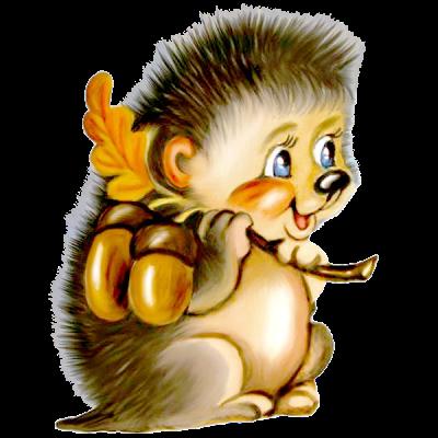 cartoon porcupine.