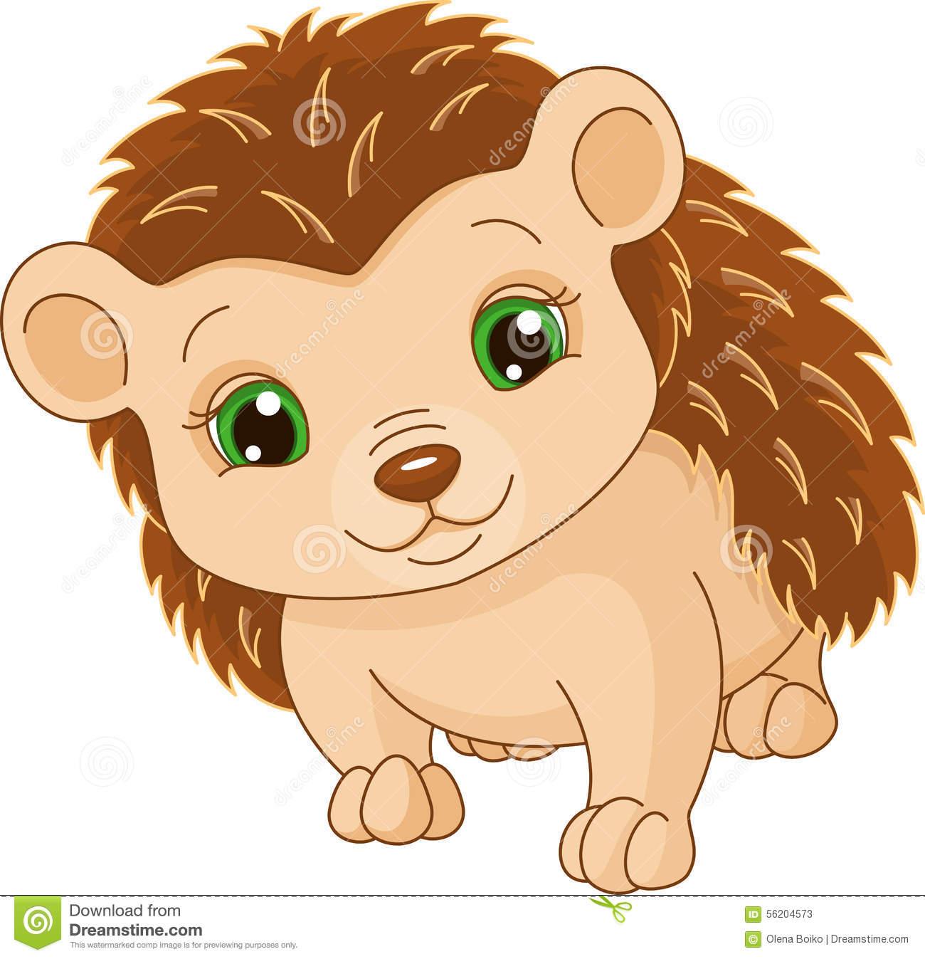 1451 Hedgehog free clipart.