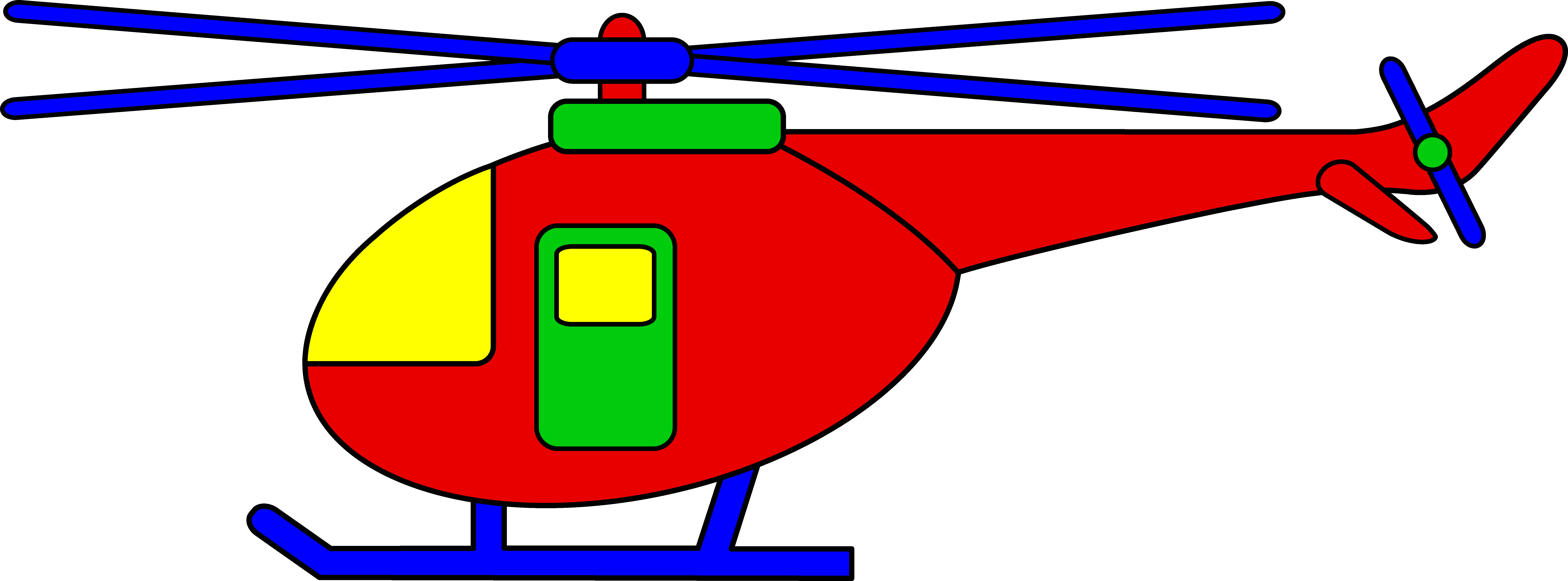 Funny Helicopter Cliparts.