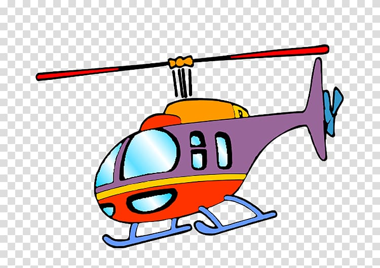 Helicopter Airplane Aircraft Cartoon, Helicopter transparent.