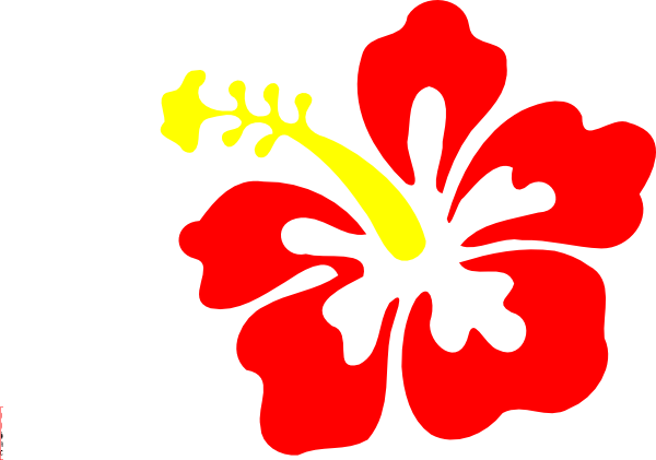 Free Cartoon Hibiscus Flower, Download Free Clip Art, Free.