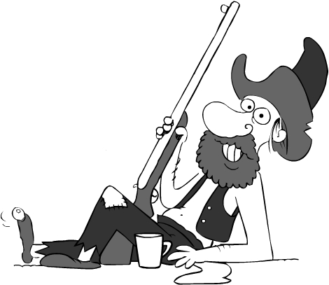 Hillbilly Cartoon Image.