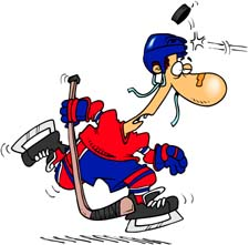 Hockey Clipart and Animations.