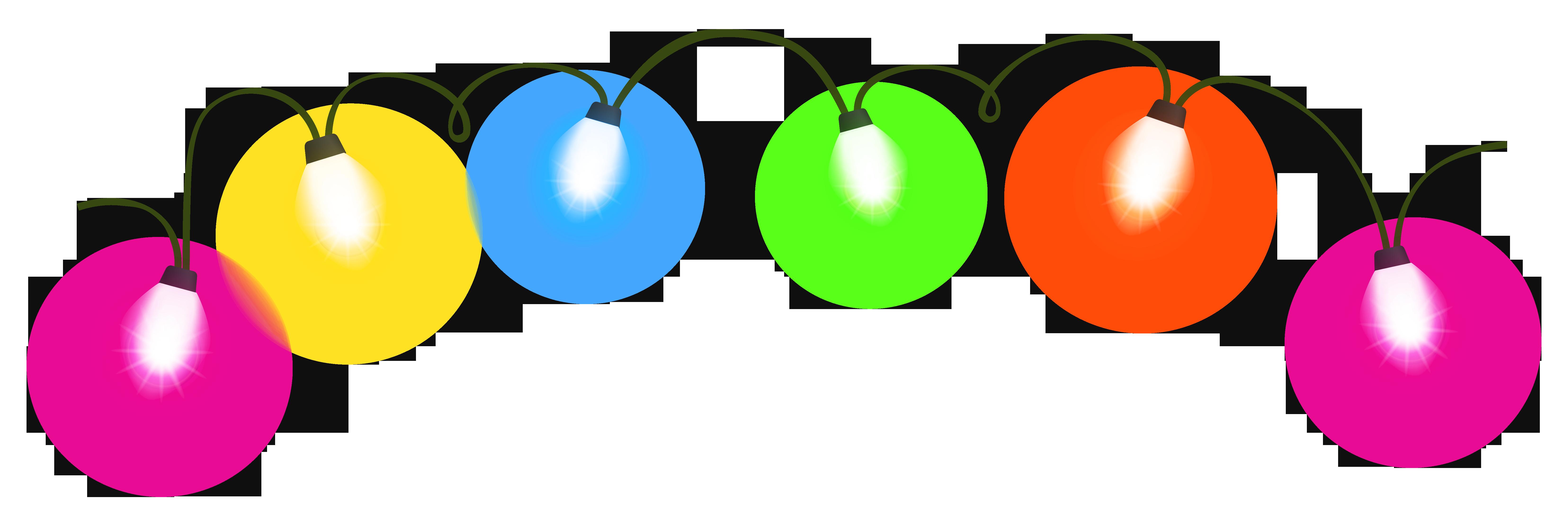 Christmas lights Lighting Animation Clip art.