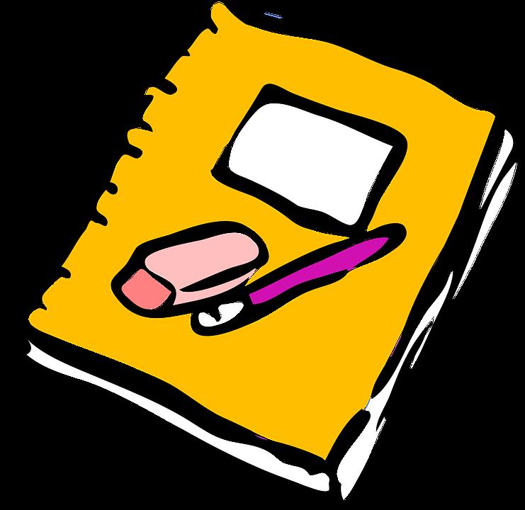 Clipart paper homework, Clipart paper homework Transparent.