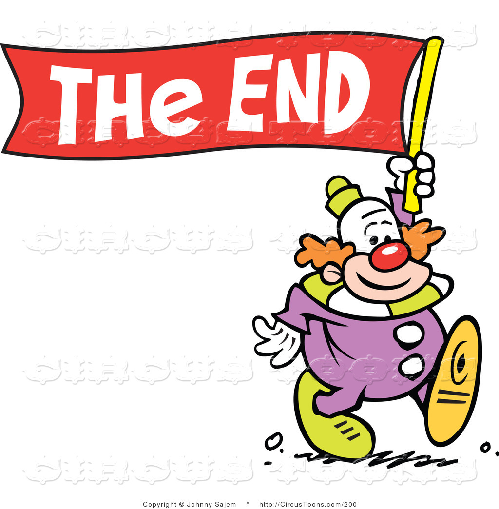 1593 The End free clipart.