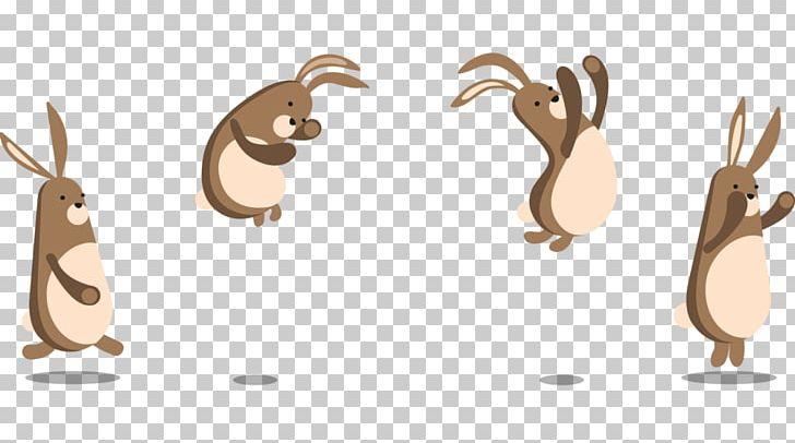 Rabbit Cartoon Bunny Hopping Illustration PNG, Clipart.