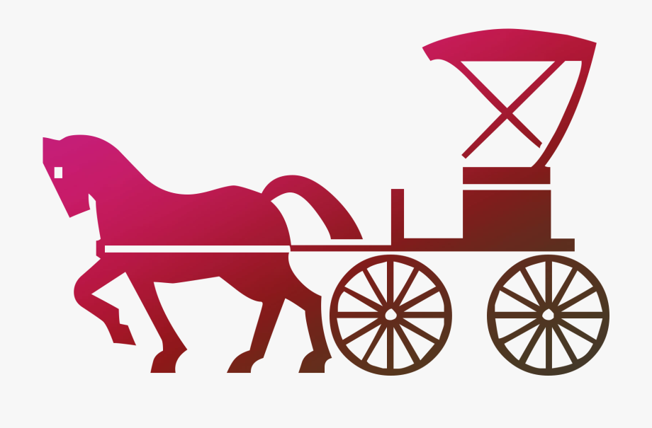 Horse And Buggy Clip Art Carriage Horse.