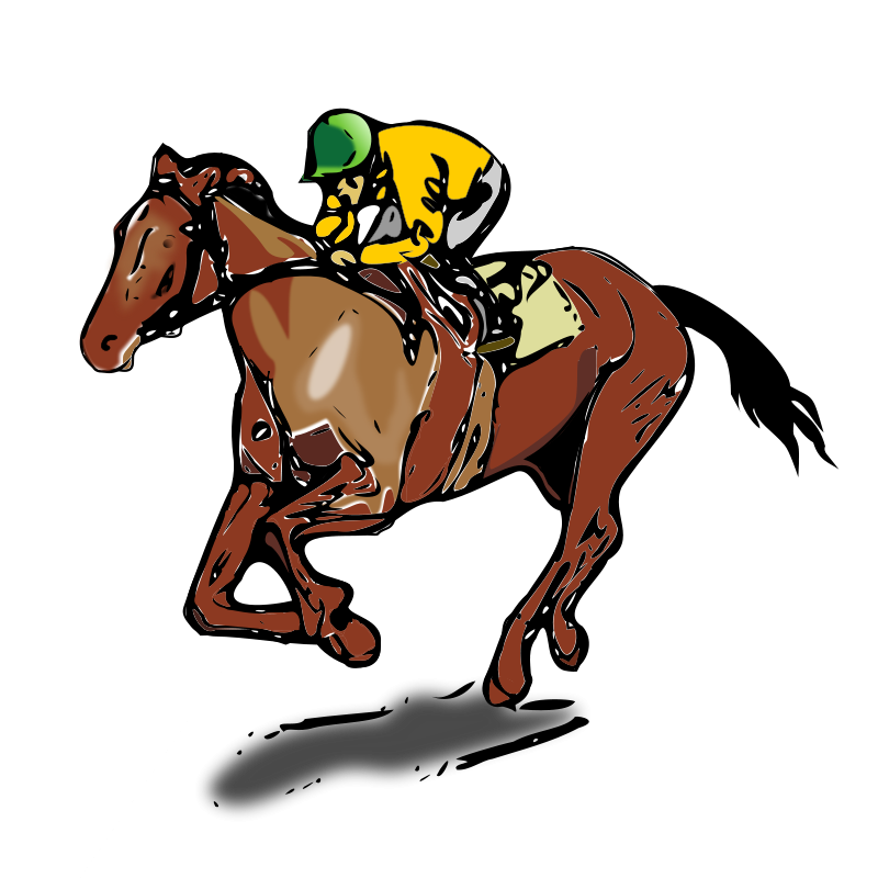 Free Cartoon Horse Racing, Download Free Clip Art, Free Clip.