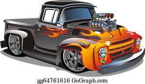 Hot Rod Clip Art.