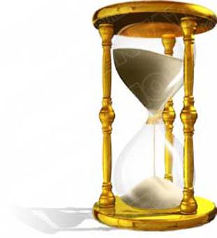 Free hourglass animation.