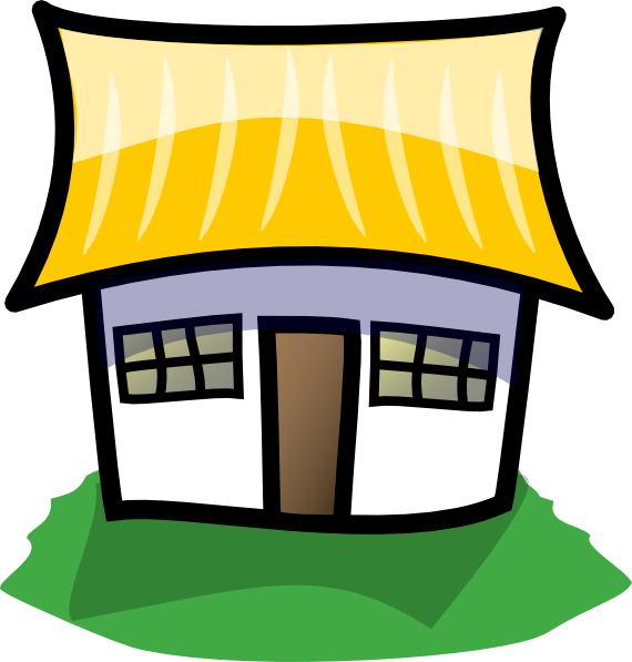 Animated House Clipart.
