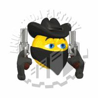 Animated clipart, Emoticon and Cowboys on Pinterest.