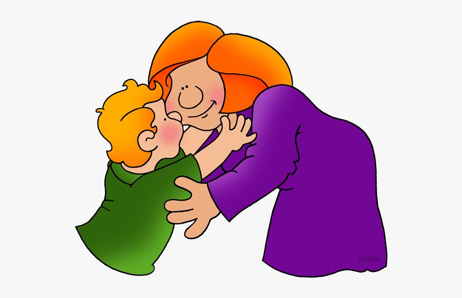 Kisses Clipart Mother Child.